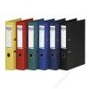 DONAU Iratrendező, 50 mm, A4, PP, élvédő sínnel, DONAU Premium, piros (D3955P)
