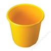 HELIT Szemetes, 18 l, HELIT Economy, sárga (INH2360018)
