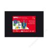 APLI Moosgumi, 400x600 mm, APLI Eva Sheets, fekete (LCA12768)