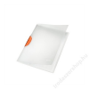 Leitz Gyorsfűző, klippes, PP, A4, LEITZ Color Clip Magic, narancs (E41740045)