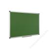 Krétás tábla, zöld felület, nem mágneses, 60x90 cm, alumínium keret (VVK02)