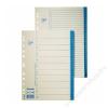 ESSELTE Regiszter, karton, A4, A-Z, ESSELTE, fehér (E56117)