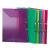 VIQUEL Gumis mappa, 15 mm, PP, A4, VIQUEL Propyglass, piros (IV113343)