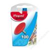MAPED Rajzszeg, 100 db-os, MAPED, színes (IMA310011)