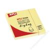 APLI Öntapadó jegyzettömb, Z, 75x75 mm, 100 lap, APLI, sárga (LCA12078)
