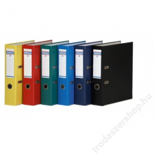 DONAU Iratrendező, 75 mm, A4, PP/karton, élvédő sínnel, DONAU Master, kék (D3967K) irattartó