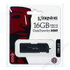Kingston Pendrive, 16GB, USB 2.0, 10/5MB/sec, KINGSTON DT100 G2, fekete (UK16GDT1)