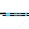 SCHNEIDER Golyóstoll, 0,5 mm, kupakos, SCHNEIDER Slider Edge M, fekete (TSCSLEMFK)