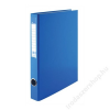VICTORIA Gyűrűs dosszié, 4 gyűrű, 35 mm, A4, PP/karton, VICTORIA, kék (IDVGY11)