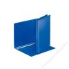 ESSELTE Gyűrűs dosszié, panorámás, 4 gyűrű, 25 mm, A4, PP/PP, ESSELTE, kék (E49752)