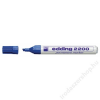 EDDING Alkoholos marker, 1-5 mm, vágott, EDDING 2200, kék (TED2200K)