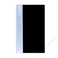 DONAU Névjegytartó, 120 db-os, DONAU, fekete (D134120FK) névjegytartó