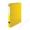 VICTORIA Gyűrűs dosszié, 4 gyűrű, 35 mm, A4, PP/karton, VICTORIA, sárga (IDVGY08)