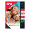 APLI Fotópapír, tintasugaras, A4, 140 g, fényes, APLI Best Price (LEAA11804)