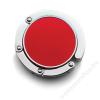 Táskafogas, összehajtható, piros (RA0280)