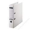 Leitz Iratrendező, 80 mm, A4, PP/karton, élvédő sínnel, LEITZ 180, fehér (E10101201)