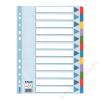 ESSELTE Regiszter, laminált karton, A4 Maxi, 1-12, ESSELTE