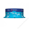 Verbatim CD-R lemez, 700MB, 52x, hengeren, VERBATIM DataLife (CDV7052B25DL)