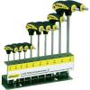 Conrad Proxxon Industrial 22 652 L-szárú torxkulcs készlet, 10 részes