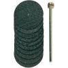 Conrad Proxxon Micromot 28 808 Alumíniumoxid szövetkötésű vágókorong, 10 részes készlet