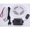LEDMASTER 3528UCW-150-12VWF / 5 méter vízálló LED szalag tápegységgel és fényerõszabályzóval