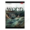 UNIPAP Spirálfüzet, A5, kockás, 96 lap, UNIPAP Wood, stone, grass, twine (UNWSGT596K)