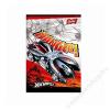 UNIPAP Füzet, tűzött, A5, kockás, 60 lap, UNIPAP Hot Wheels (UN0997K)