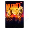 UNIPAP Spirálfüzet, A4, vonalas, 50 lap, UNIPAP Wild life (UNWF450V)