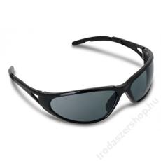 Védőszemüveg, sötétített, polarizált fényvédő lencsével, Freelux, fekete (MEF4H)