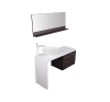 Diva Lugáno Ardeni / Fehér fürdőszoba bútor INFINITY fürdőszoba kiegészítő