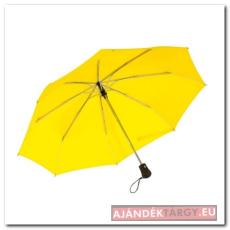 Bora automatikus nyíló/záródó, szélálló, összecsukható, sárga