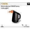 Beta 1757A akkumulátorsav feltöltő kanna, műanyagból