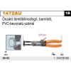 Beta 1472AU önzáró tömlőbilincsfogó, barnított, PVC-bevonatú szárral