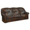 COM-Salvador 3-személyes, fix bőr kanapé