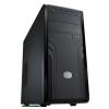 "CoolerMaster Force 500 Black Black,2x5,25"",8x3,5"",ATX,2xUsb,Audio,Táp nélkül,190x426x491,5 mm,1x2,5"",1x"