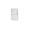 utángyártott Műanyag telefonvédő lyukacsos FEHÉR [Samsung GT-C3300K Champ]