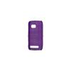 utángyártott Műanyag telefonvédő lyukacsos PIROS [Nokia Lumia 710]
