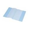 PANTA PLAST Panta Plast Füzetborító, A5, PP, 80 mikron, narancsos felület, PANTA PLAST, kék
