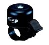 BBB-11 kerékpár csengő - Loud&Clear fekete kerékpár és kerékpáros felszerelés