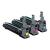 Minolta MC5550/5570 Imaging Kit C,M,Y 30K (Eredeti)