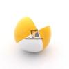 Play zsonglőrlabda, 60mm,fehér-sárga
