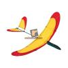 Invento Gmbh Invento Airglider 40 vitorlázórepülő - piros/sárga
