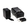 Powery Utángyártott akku videokamera JVC GZ-MS19 (lapos csatlakozóval) +töltővel