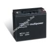 Multipower Ólom akku 12V 22Ah (Multipower) típus MP22-12C ciklusálló
