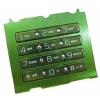 Sony Ericsson W580 alsó billentyűzet zöld swap*