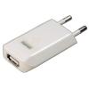 Hama 106647 Hálózati töltő USB Picco 1000mA (fehér)