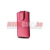 Redpoint Galaxy S4 méretű bőr tok,Pink