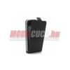 CELLY iPhone 5 bőr flip mágneses tok,Fekete