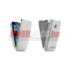 Nokia Lumia 610 flip bőr tok,Fehér