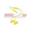Nokia 3.5 mm jack sztereó headset,Citrom sárga
